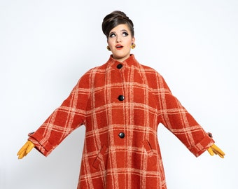 """coat """"Jean"""" 1960s style, A-line"""