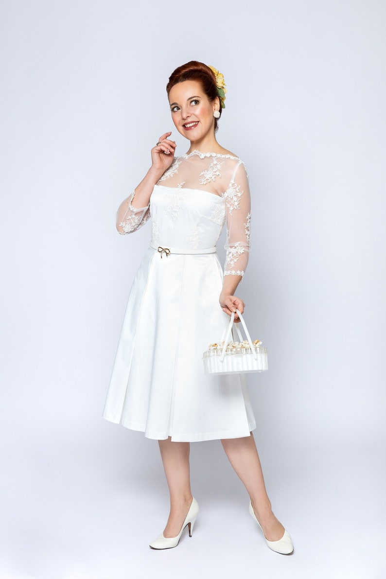 50s Wedding Dress, 1950s Style Wedding Dresses, Rockabilly Weddings wedding dress