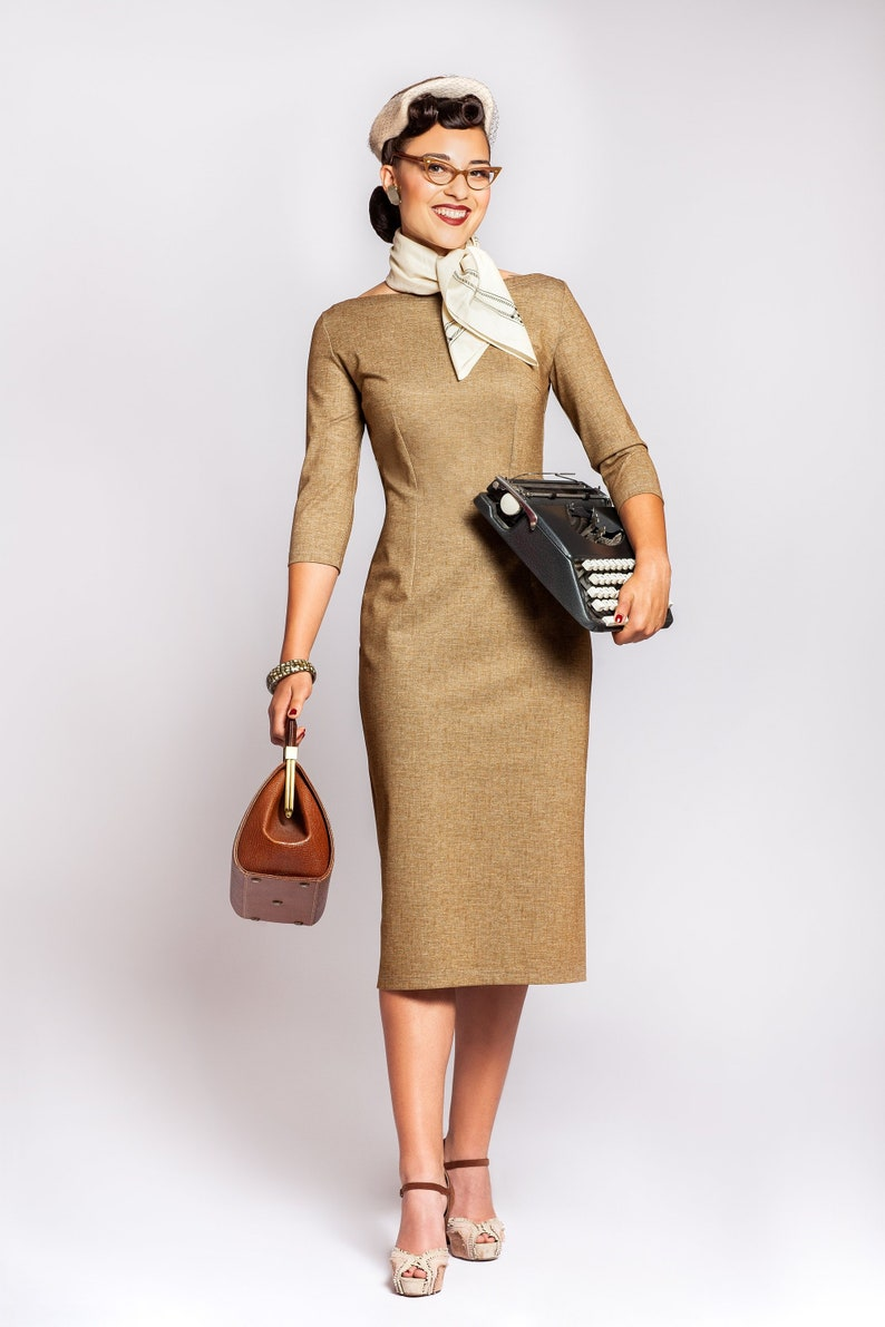 1950s Women's Outfit Inspiration Dress