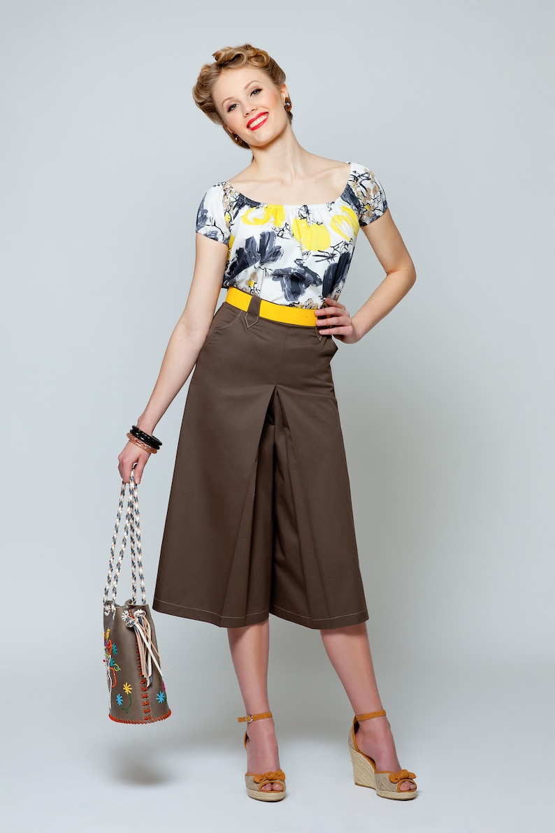 Vintage Western Wear Clothing, Outfit Ideas Pants skirt