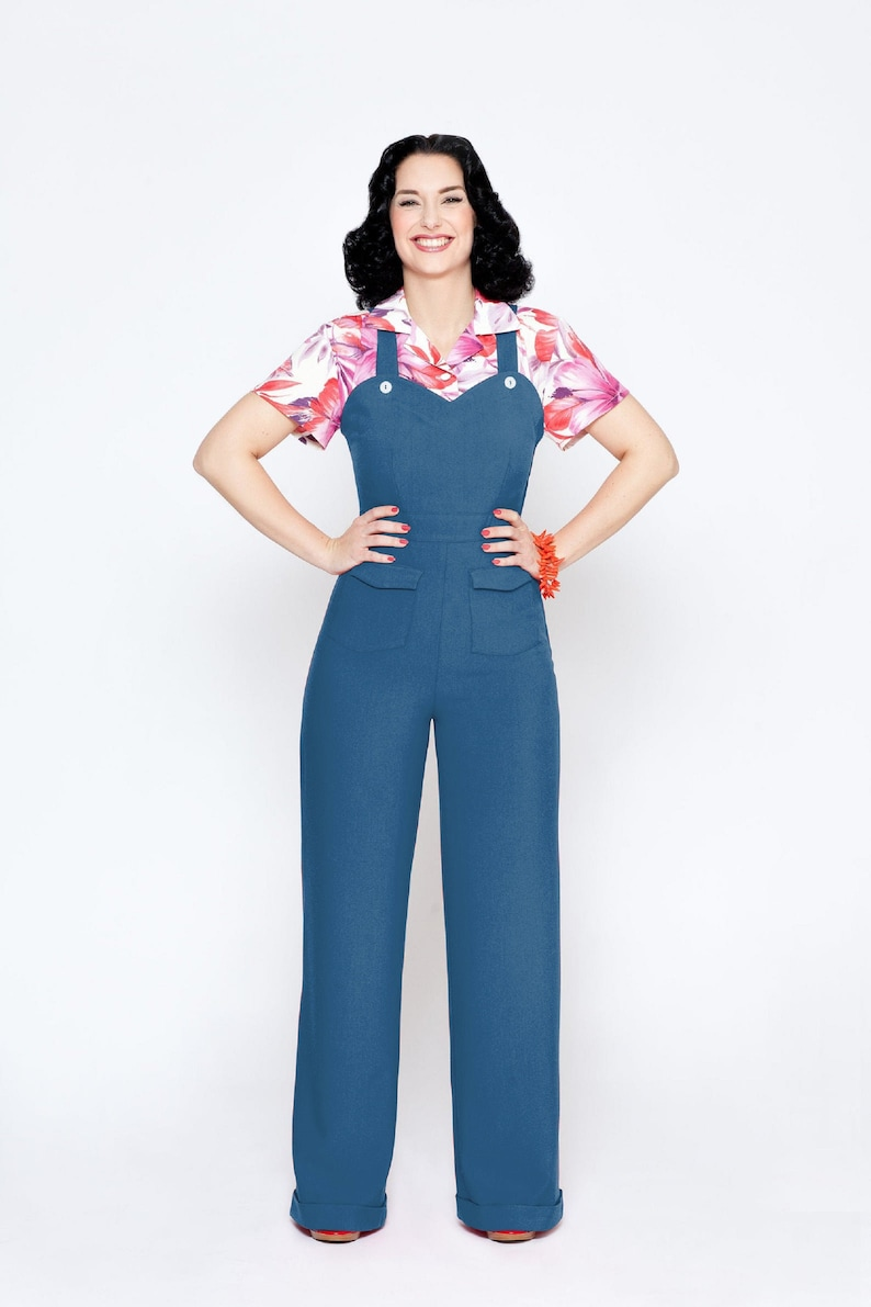 1930s Outfit Inspiration – Women's Clothing Ideas Jumpsuit