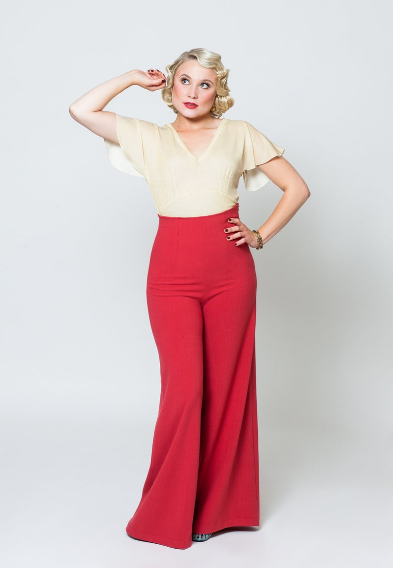 1930s Outfit Inspiration – Women's Clothing Ideas Pants