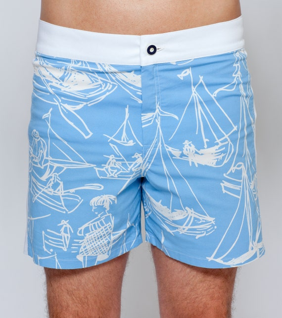 Vintage Men's Swimsuits – 1930s to 1970s History shorts