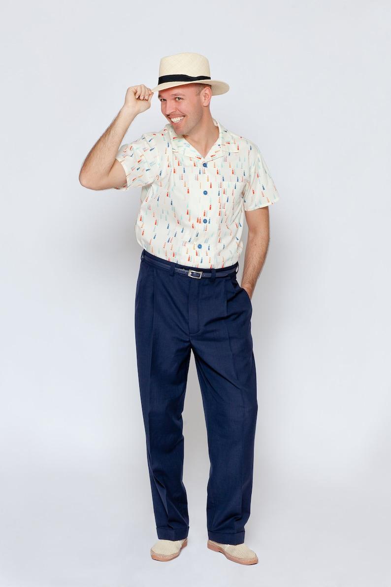 1950s Men's Outfit Inspiration   Clothing Ideas FrozenHibiscus  AT vintagedancer.com