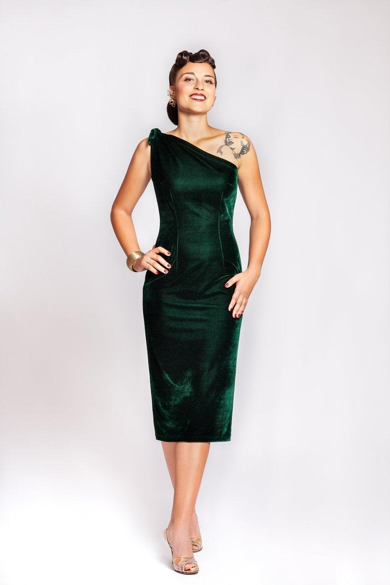1950s Party Dresses & Prom Dresses for Sale One shoulder dress
