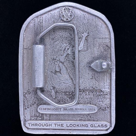 Alice Wonderland Looking Glass Book Illustration … - image 2