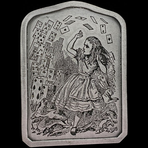 Alice Wonderland Playing Cards Queen King Knave H… - image 1