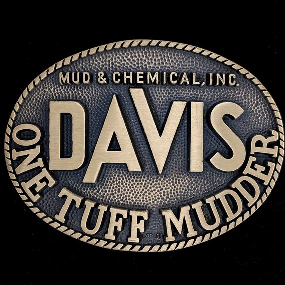 Davis Mud & Chemical Service Drilling Oil Gas Oilfield Great | Etsy