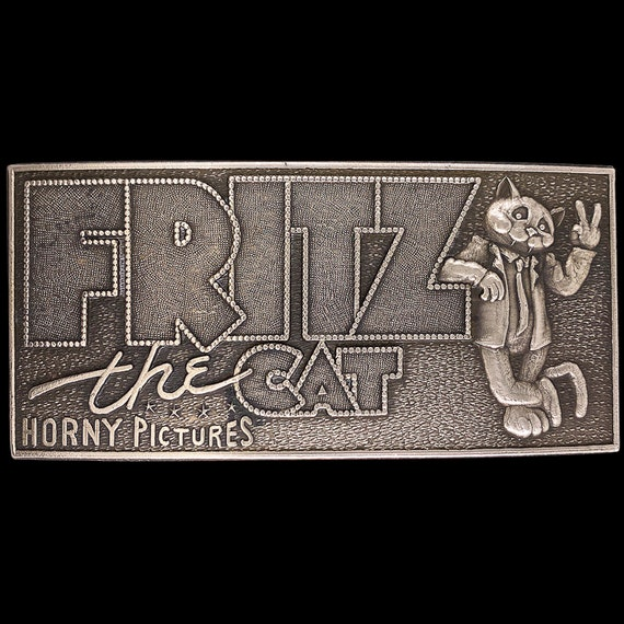 Solid Brass Fritz The Cat Horny Pictures R Crumb C