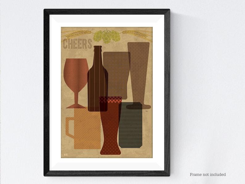 Beer poster print image 0