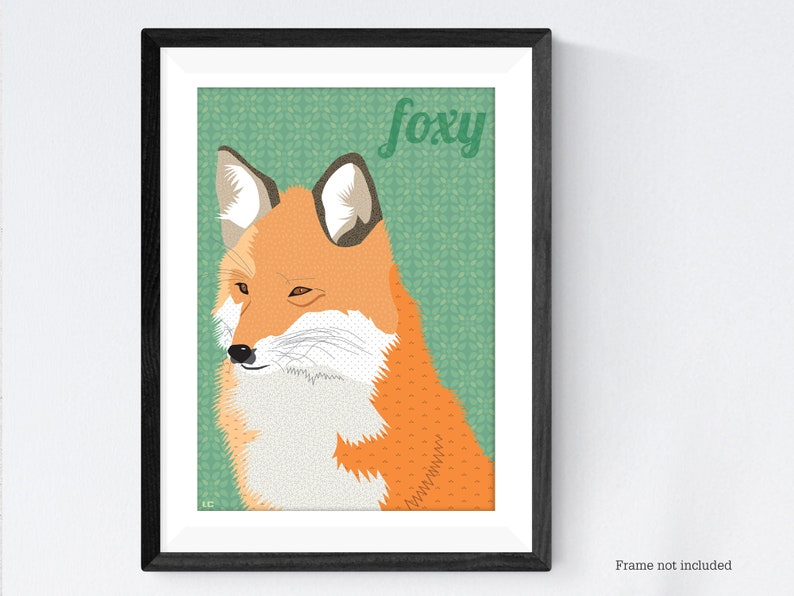 Fox poster print image 0