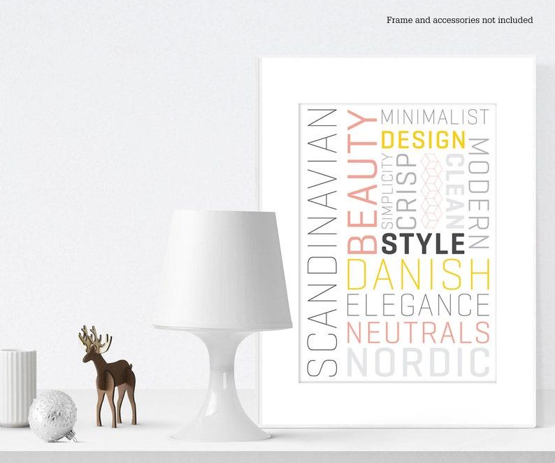 Scandinavian type poster image 0