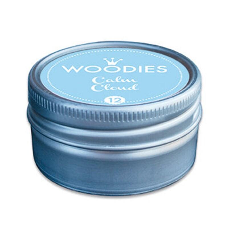 Woodies Stamp Pads  Calm Cloud Blue image 0