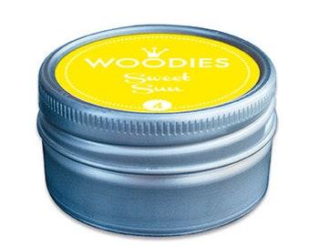 Woodies Stamp Pads   Sweet Sun Yellow
