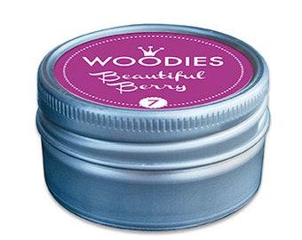 Woodies Stamp Pads   Beautiful Berry Purple