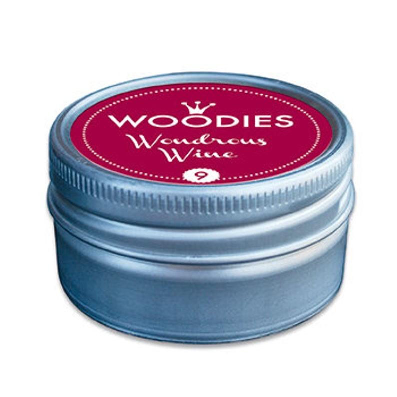 Woodies Stamp Pads  Wondrous Wine  Red image 0