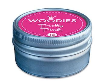 Woodies Stamp Pads   Pretty Pink   Pink