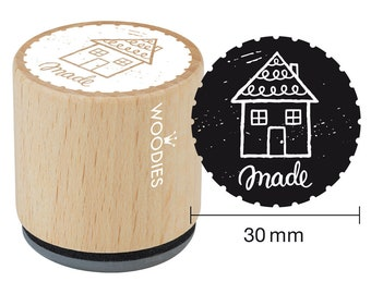 Woodies motif Stamp Homemade wood stamp