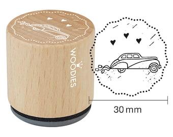 Woodies motif Stamp sedan wooden stamp