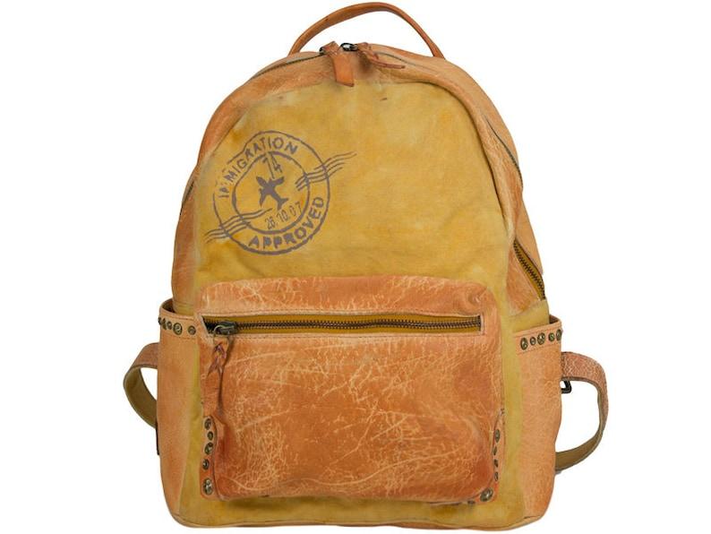 2a0b9e6733257 Leder Rucksack Leder Schultertasche Leder College Tasche