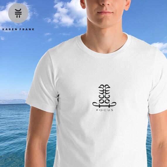 Focus On Yourself Mindfulness Meditation Shirt Yoga Shirt Etsy