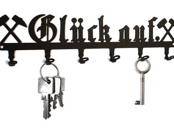Hakenleiste Gaderobenleiste Schlüsselleiste Schlüsselbrett Schlüssel Gusseisen