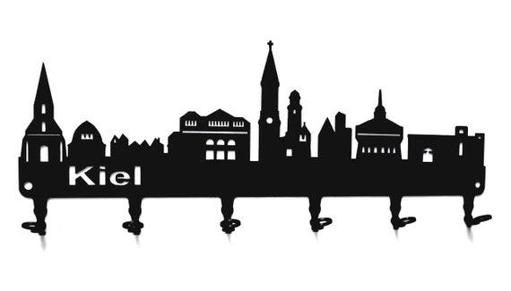 Schl/üsselleiste 4 Haken Schifffahrt Metall Schl/üsselbrett // Hakenleiste * Ahoi * Schl/üsselboard Seefahrt