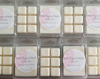 WAX MELTS Hand poured 100/% Soy Wax  Melts Extra Scented