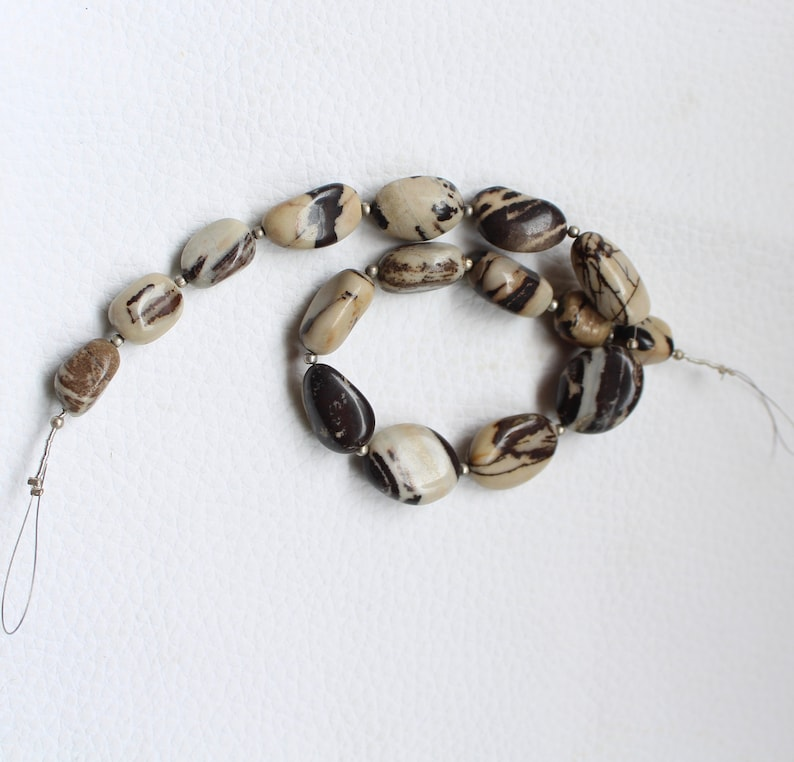 9x14--15x19-mm 190 carat Wholesale Price 10 Inches Long Strand Natural Brown AGATE Smooth Nugget
