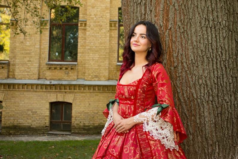 5785d72a72ba Marie Antoinette 18th Century dress Rococo costume