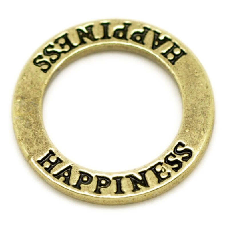 XL Ring Connector 22 mm Happiness cheerfulness