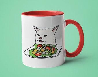 Cat Hates Mugs Womens Vest