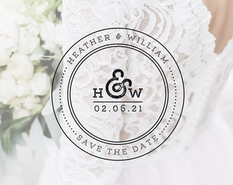 Wedding logo instant download. Save the date logo. Wedding logo monogram. Round circle logo, circle logo template, Wedding logo template