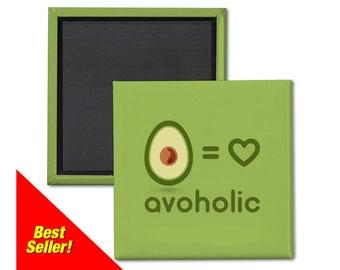 Avocado Magnet. Avocado fridge Magnet. Avocado Lover. Avoholic. Avocado Art. Funny avocado magnet. Avocado addict. Avocado gift.