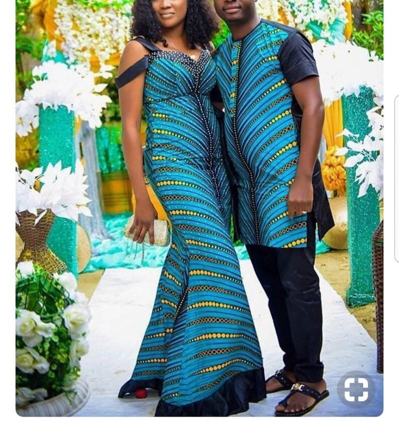 Jane African Couple clothing Dashiki Wear African Women clothing African Fashion halloween Dashiki Fashion African Unisex clothing