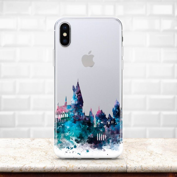 Harry Potter Inspired Hogwarts School Iphone 8 Case Galaxy S8 Etsy