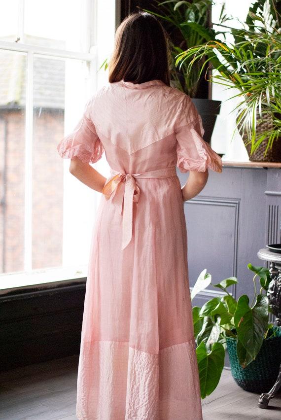 Vintage 1930's Cotton Organza Dress - image 6