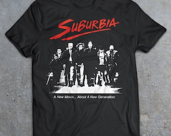 1ba05a9c90f Suburbia 1983 Movie T-Shirt