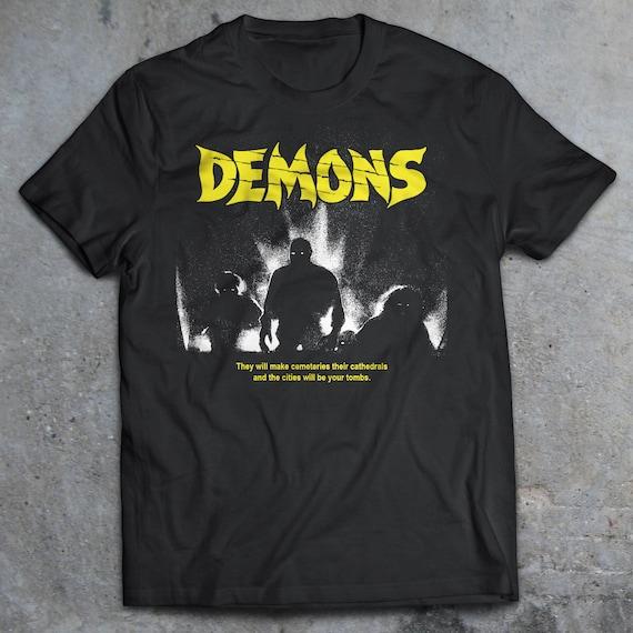 Demons Black T Shirt Dario Argento