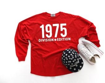 3c70fa3f116 4th of July Mockup - Shirt mockup - J. America - Game Day Jersey Red T-Shirt  - 8229 - flat lay - photography