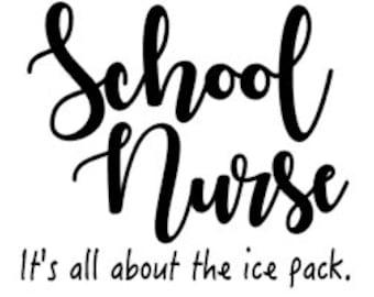 school nurse etsy Emergency RN school nurse svg