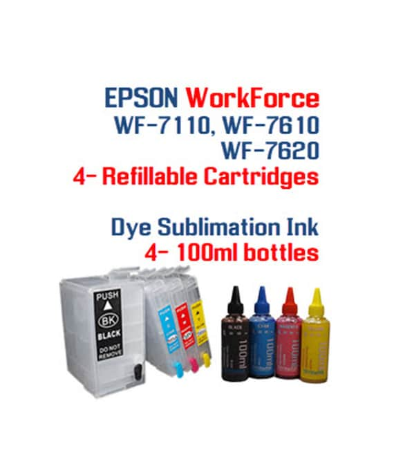 sublimation ink FOR Epson workforce 30 3640 3540 3620 3520 7510 7610 7110 7010