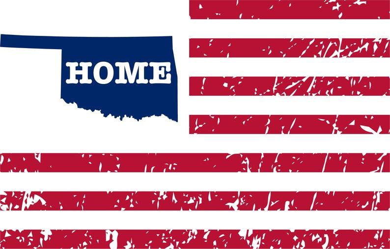 Oklahoma Map Cricut Distressed Grunge svg Designs Oklahoma svg PNG Oklahoma Shirt Shirt Iron on Home Oklahoma svg Files Vintage