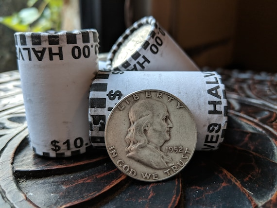 20 UNSEARCHED BANK SEALED HALF DOLLAR ROLLS POSSIBLE SILVER KENNEDY FRANKLIN