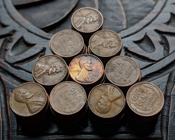 100 Lincoln Wheat Pennies - You Pick! Teens, Twenties, Thirties, and Common  Date Wheat Penny Coins