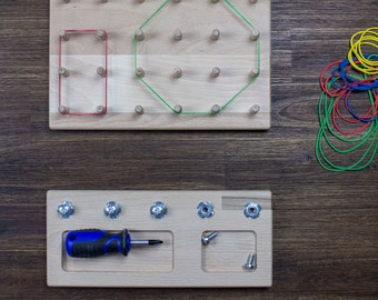 Gift Set Geoboard + Screw Board