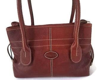 5f40813bd2 Tod s D-Bag woman brown leather shoulder bag