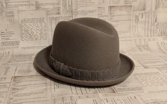 Vintage Fedora Hat for Men Vintage Hat Fedora Vint