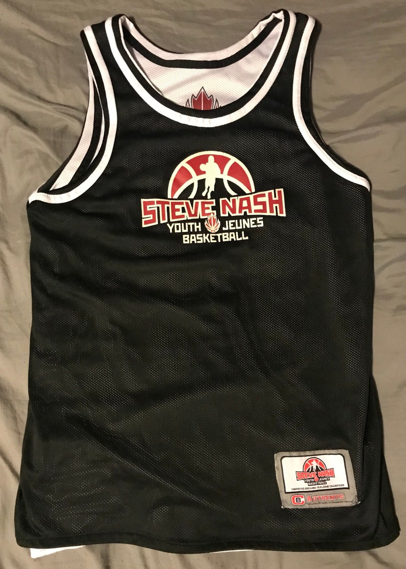 buy popular 54337 3ee6a Steve Nash Canada Basketball Reversible Youth Jersey