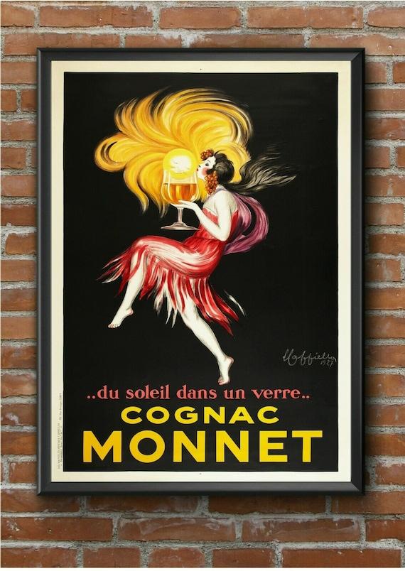 Vintage Poster Print canvas painting nouveau art advert Photo  A1 A2 A3